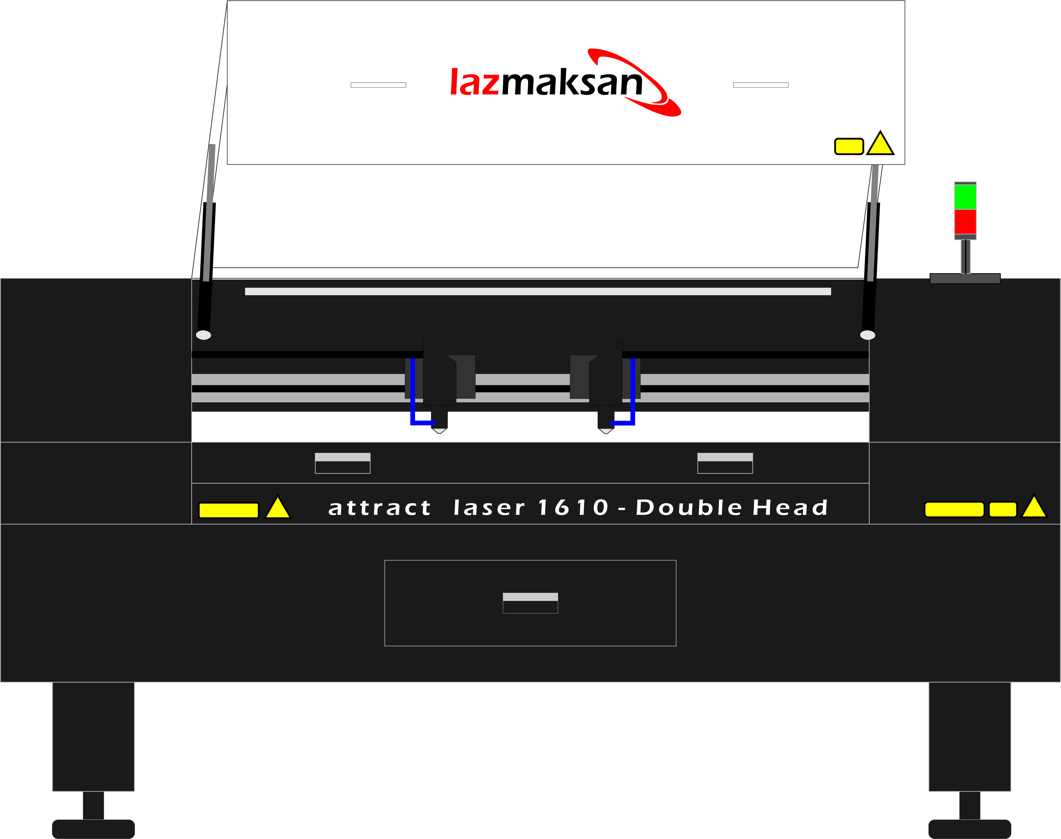 1610 double head-open-cover-front-side